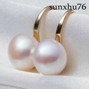 Fashion-Lady-Elegant-Pearl-Crystal-Rhinestone-Ear-Stud-Women-039-s-Earrings-Jewelry