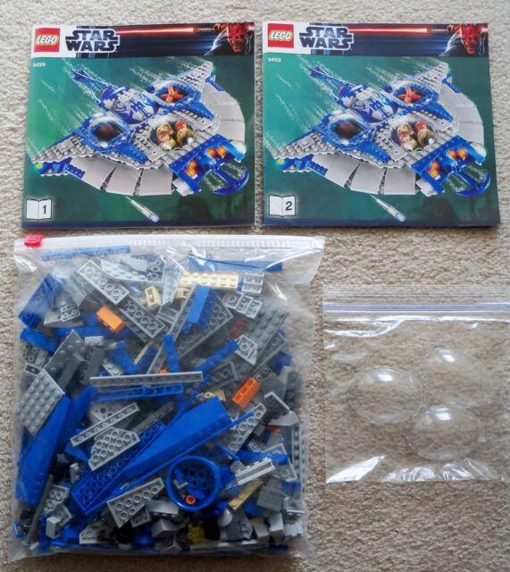 LEGO Star Wars - Rare - Gungan Sub 9499 w/ instructions (no minifigs)
