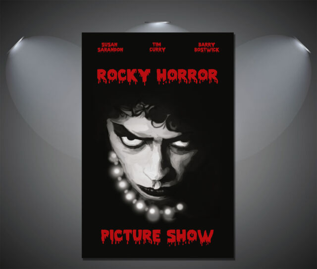 The Rocky Horror Picture Show Vintage Movie Poster - A1, A2, A3, A4 sizes