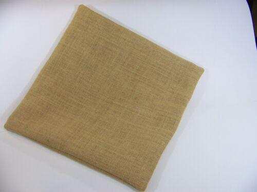 12 x 12 Burlap Pillow Throw Decorative French Country Farmhouse covers