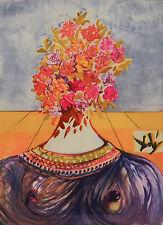 Salvador Dalì, The Flowering of Inspiration, litografia, 74,8x54,5 cm, autentica
