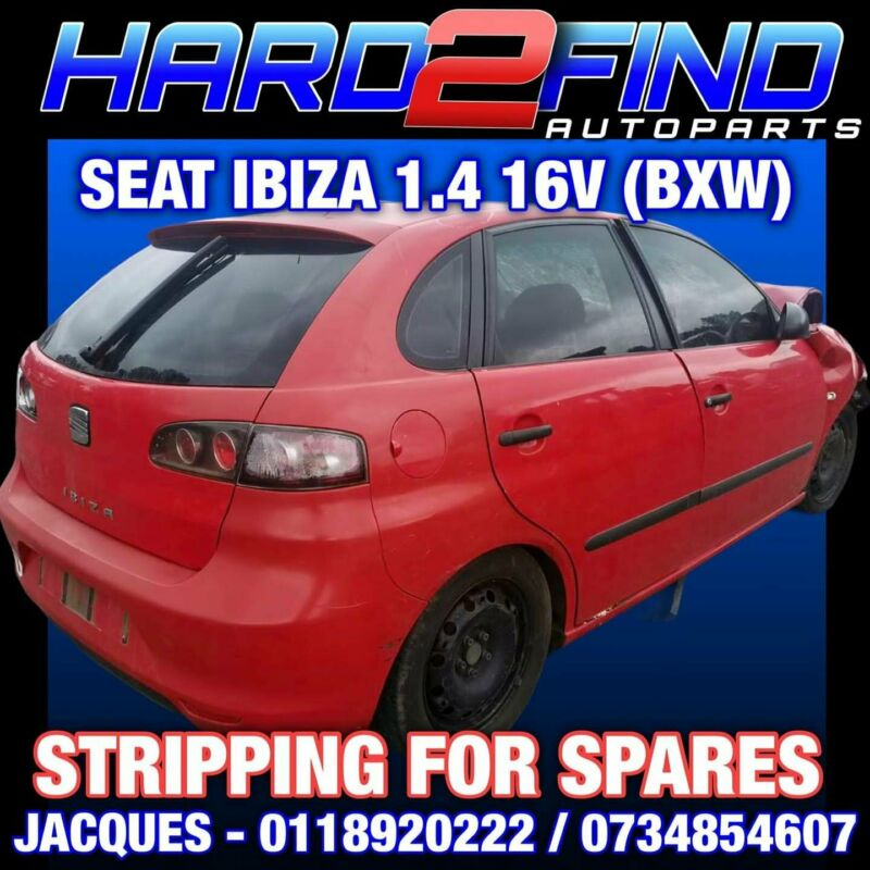 SEAT IBIZA 1.4 16V 2009 #BXW STRIPPING FOR SPARES
