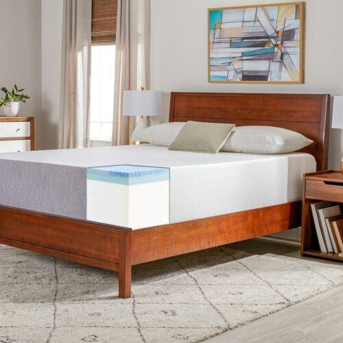 14 Inches Hypoallergenic Gel Memory Foam Medium Firm Mattress In a Box