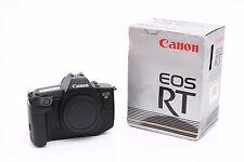 Canon Eos RT Professionale Pellicola SLR Camera Corpo-Boxed-PERFETTE CONDIZIONI!