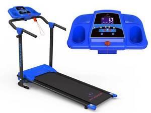 Cinta de correr plegable 12 programas 1200W  Mp3 + 2 altavoces velocidad 0-12km