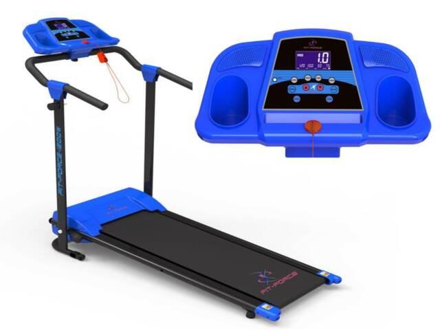 Cinta de correr plegable 12 programas 1200W  Mp3 + 2 altavoces velocidad 12kmph