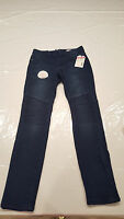 Bongo Girls Size 10 Knit Jeggings Blue Jeans Casual Comfy Sears