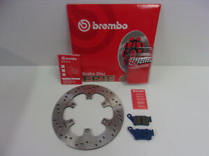 Brembo Bremsscheibe Bremse hinten + Bremsbeläge Aprilia Pegaso 650 660