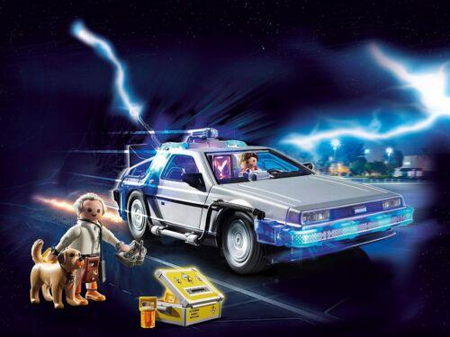 ACCESSORI NUOVO /& OVP PLAYMOBIL ® back to the future 70317 DeLorean MODELLO DI AUTO