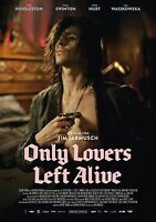 Only Lovers Left Alive Movie Poster - Tom Hiddleston Poster (german) 12 X 17