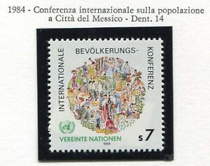 19332-UNITED-NATIONS-Vienna-1984-MNH-Population-Cof-In-Mexico