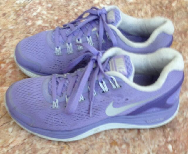 e7daf1ae4df7 Nike Lunarglide 4 Running Purple SNEAKERS Size 5.5 524978 500 for ...