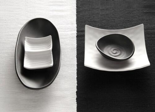 "17,5 cm x 15,5 cm oval Melamin Schale Serie /""ZEN/"" Farbe wählbar 5,5 cm Höhe"
