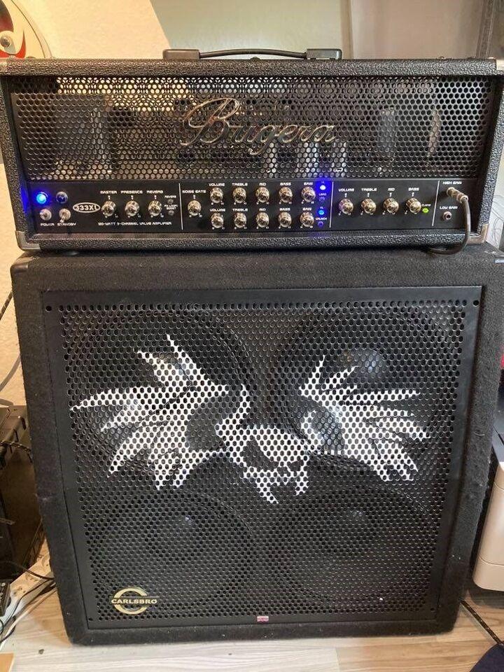 Guitarforstærker, Bugera 333XL, 120 W