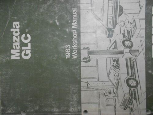 1983 Mazda GLC Service Repair Shop Manual FACTORY OEM BOOK RARE 83 WORKSHOP