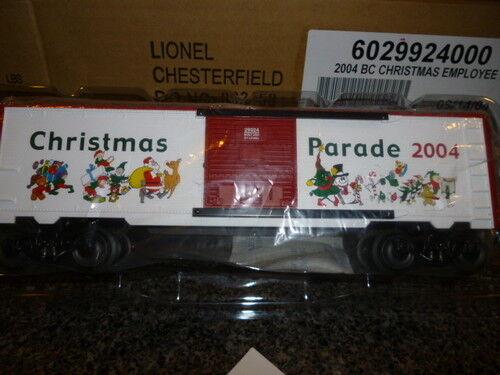 Lionel Uncatalogued 29924 2004 Dipendente Natale Auto Mint W22