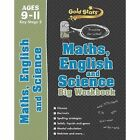 Gold Stars Maths, English and Science Big Workbook Ages 9-11 Key Stage 2: Practise for school! by Parragon Books Ltd (Paperback, 2014)