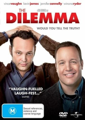 1 of 1 - The Dilemma (DVD, 2011) Vince Vaughn, Kevin James -- Free Postage --