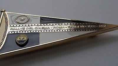 fits all maserati cars classic nurburgring racing badge Maserati grill badge