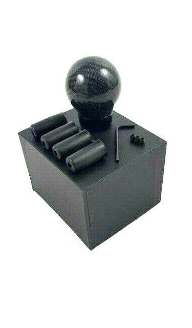 Universal Schaltknauf Knauf Ball Carbon Schalthebel Shifter Schaltknopf manuell