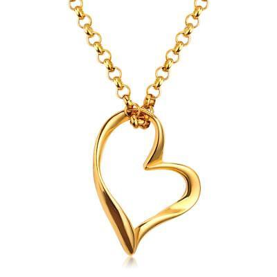 Brautschmuck Uhren & Schmuck Herz Anhänger Gelbgold 999er Gold 24 Karat Vergoldet Damen A3167 In Vielen Stilen