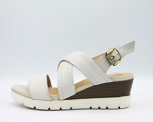 Geox marykarmen Da Donna Bianco Blu Scuro Sandalo