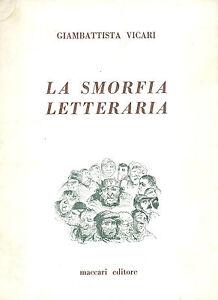 Giambattista Vicari: La smorfia letteraria. 1968