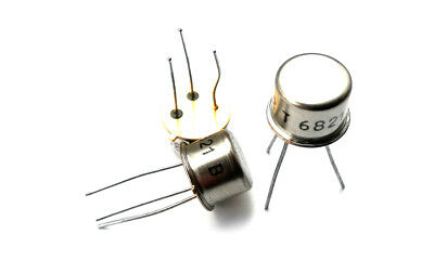 Transistor NPN 60V 1A 0.8W TO39 5 pieces 2SC708 // C708 // BSW54 2N2219A