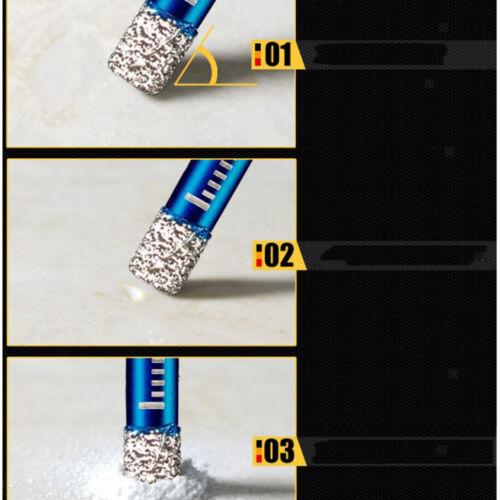 Diamantbohrer Trockenbohrer Bohrer für Holz Glas Quarz Beton Marmor 12mm