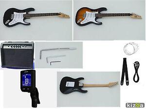 Guitarra Eléctrica Jem Set Pack Accesorios, Cursos, Ampli  40w musicales,20w rms