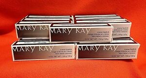 Mary-Kay-CREME-LIPSTICK-Pick-your-Shade-Hard-to-Find-Colors-New-in-Box