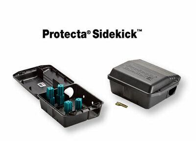 3 Protecta Sidekick Rat Bait Stations /& 3 T-Rex Rat Control Snap Traps