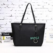Ladies Women's Black Tote Shoulder Messenger OL Handbag Hobo Bag Girlfriend Gift