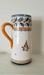 Mexican-Talavera-Pottery-Large-Pitcher-9-034