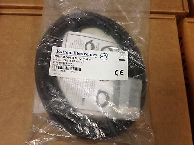 Extron Electronics HDMI M TO DVI-D M//25 PN// 26-614-04 CABLE NEW
