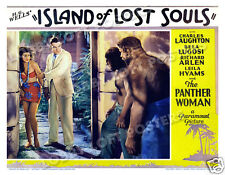 ISLAND OF LOST SOULS LOBBY SCENE CARD #5 POSTER 1932 aka THE ISLAND OF DR MOREAU
