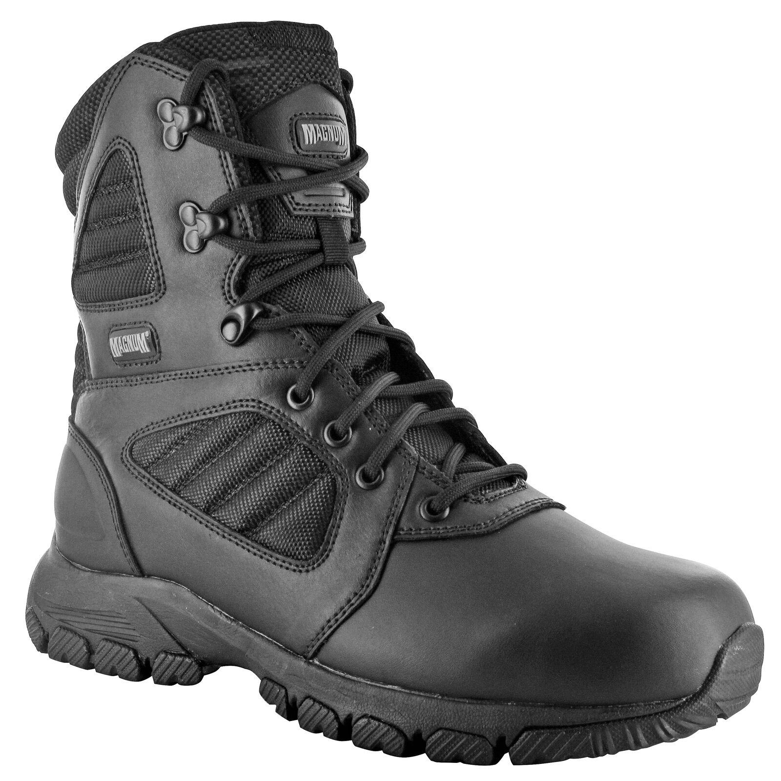 HI-TEC Boots - Magnum Lynx 8.0 Black Schuhe Herren Boots HI-TEC Ranger Security Polizei Paint e2c6f5