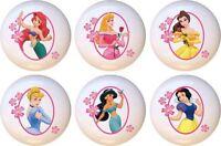 Set Of 6 Disney Princess Frame Ceramic Drawer Pulls Dresser Drawer Cabinet Knobs