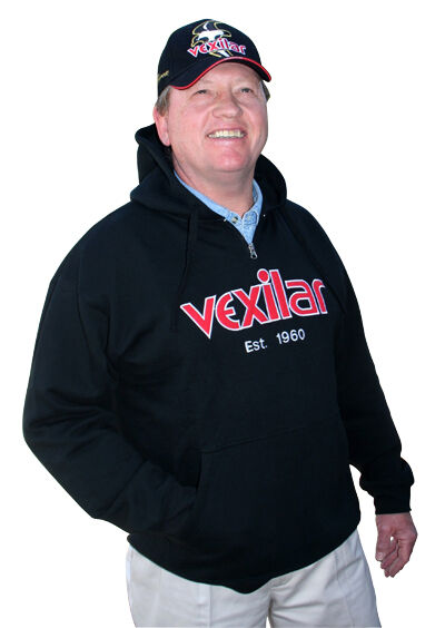 NEW VEXILAR LOGO HOODIE SWEATSHIRT  SZ L VXW239-3  the best selection of