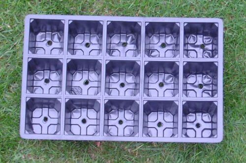 10 Plateau à Graines à Insérer 8-25 Cellules