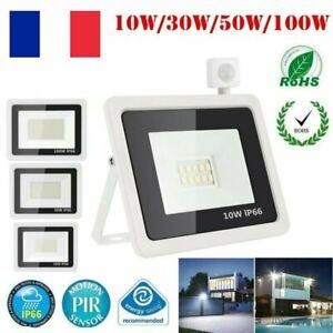 10-30-50-100W-LED-Mince-Flood-Spot-Projecteur-Lampe-Jardin-Exterieur-Securite-FR