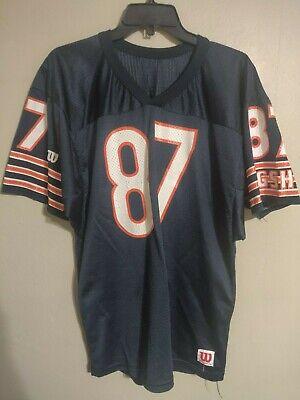 Vintage Chicago Bears NFL Football Wilson 87 Tom Waddle Wilson Jersey - Men's L   eBay