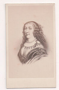 Vintage-CDV-Anne-Marie-d-039-Orleans-Duchess-of-Montpensier-E-Desmaisons-Photo
