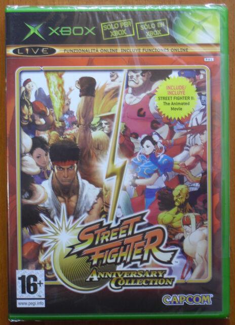 Street Fighter Anniversary Collection [Hyper II + 3rd Strike III] Xbox 360 NUEVO
