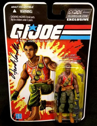 GI JOE SIGNED 2017 Convention Exclusive BIG LOB MOC Collectors Club Figure MIP