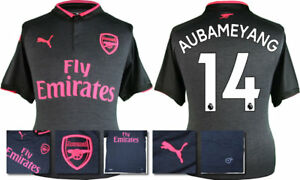 17   18 - PUMA   ARSENAL 3RD KIT SHIRT SS   AUBAMEYANG 14 ... c80ffe189