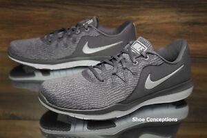 Nike Flex Supreme TR 6 WIDE Running Shoes Gunsmoke AH8176-019 ... 82ea30193