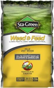 Image Is Loading Sta Green Weed And Feed 13 Lb 5000