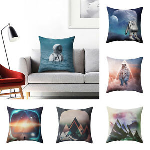 FJ-LK-GN-Universe-Fantastic-Pillow-Case-Bed-Waist-Cushion-Cover-Cafe-Home-Dec