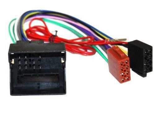 Adaptador cable enchufe ISO G1 para autoradio de PEUGEOT y CITROEN